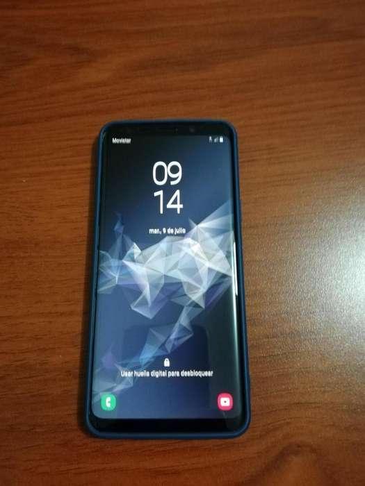 Samsung S9, como nuevo, gris, cero rayones ni golpes