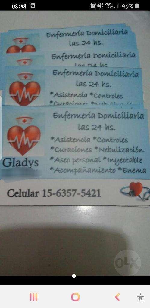 Enfermera Domociliaria