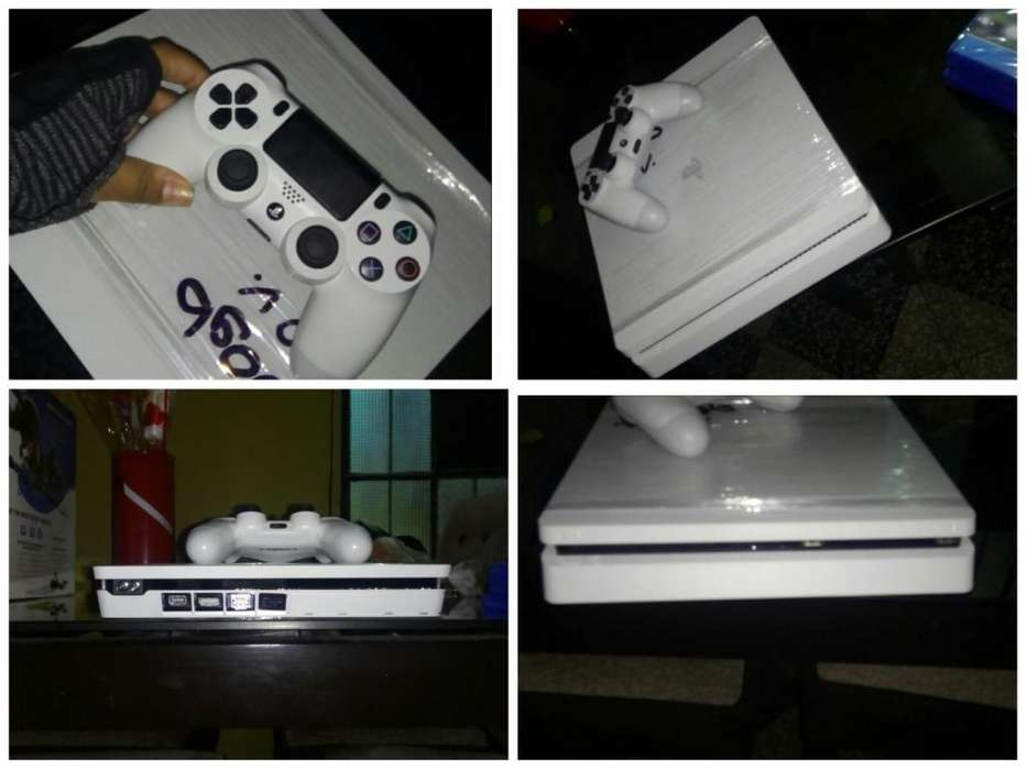 Playstation 4 slim 500 GB Blanco