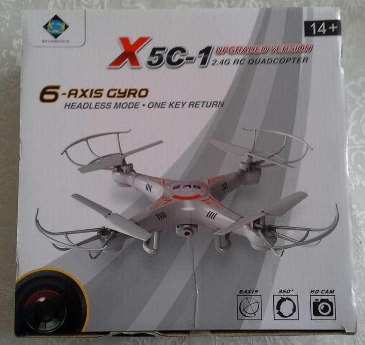 DRON CON CAMARA MODELO X5C-1 CUADRACOPTER