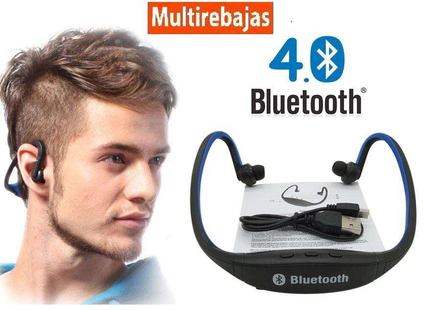 Audifono Bluetooth Sport Deportes Micro Sd S8 Iphone 8 J7