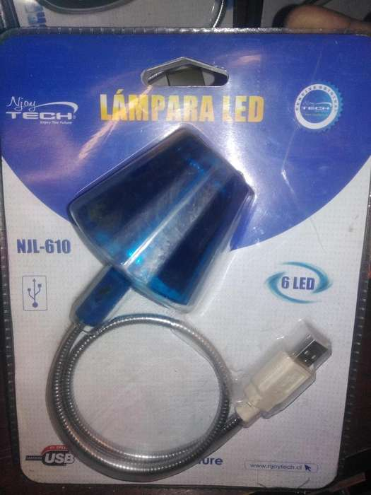 USB LED para conectar a pc o laptop