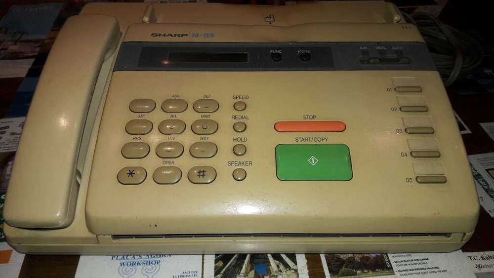 Telefono <strong>fax</strong> Sharp