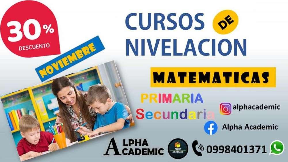 CURSOS DE MATEMATICAS