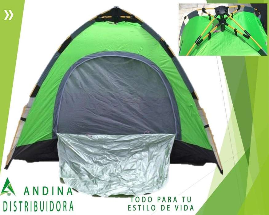 Carpa Automática 4 Personas <strong>camping</strong>