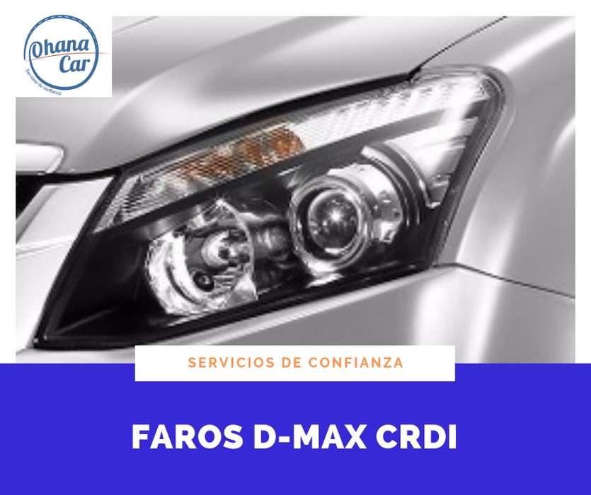 FAROS DELANTEROS D-MAX CRDI