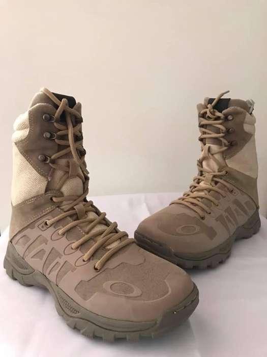 botas militares color desierto