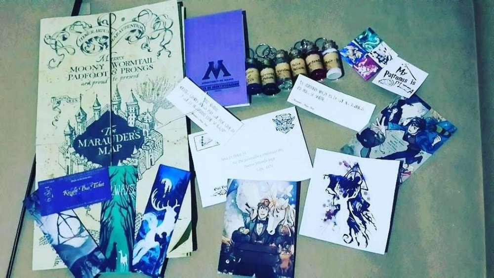 Harry Potter:cartas,registo Muggle,mapa