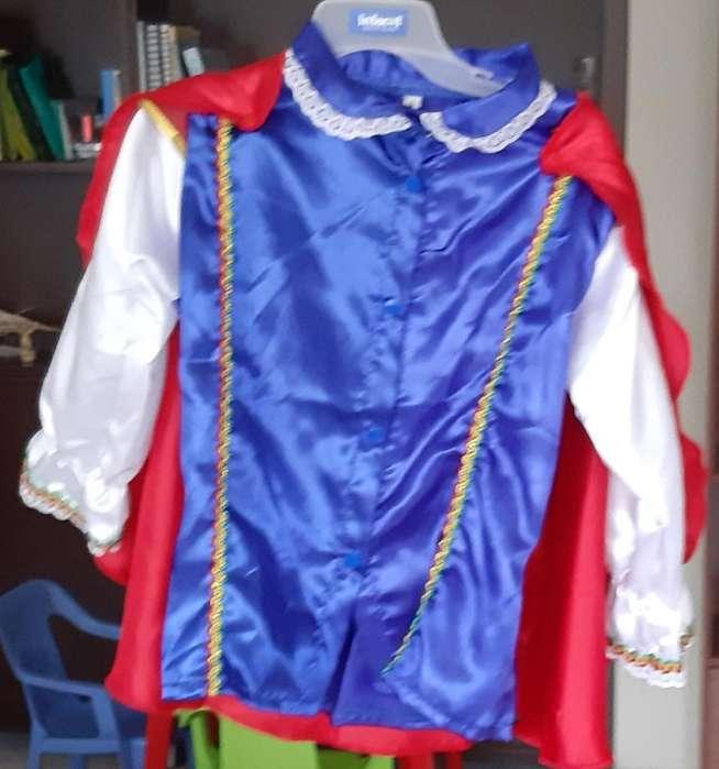 Se Vende Disfraz de Prince Talla 6