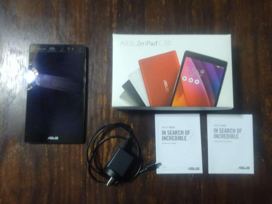 Tablet Asus Zenpad 7.0c Color Plateado