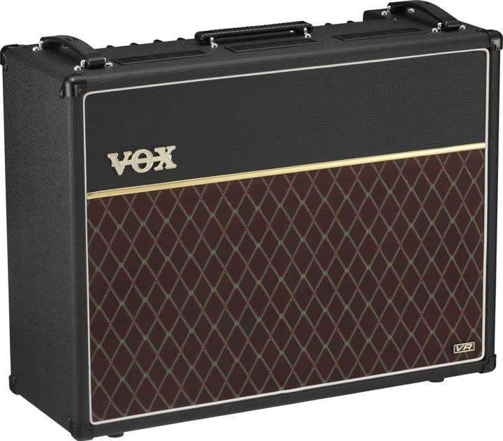Amplificador de guitarra Vox Ac30vr 30w 2x12 Combo hibrido,, celestion custom