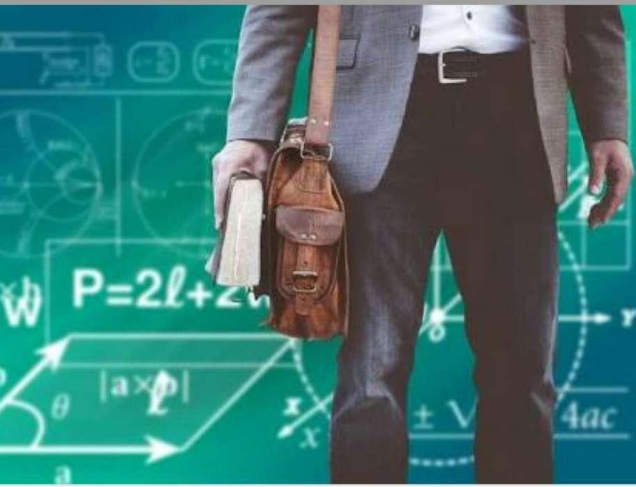 Profesor de Matemática Y de Química