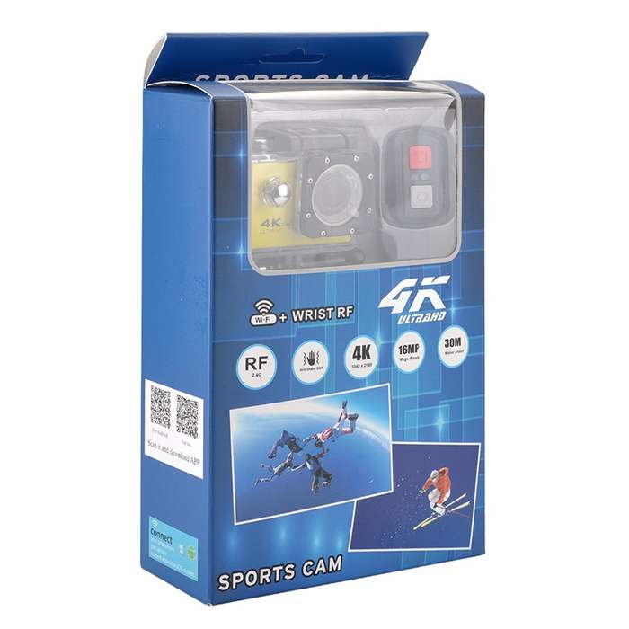 Camara Deportiva Sports Cam 4k Wifi