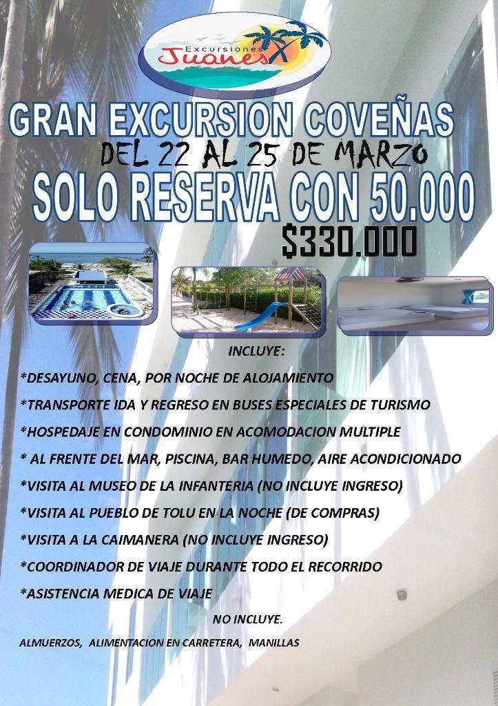 Gran Excursion Coveñas