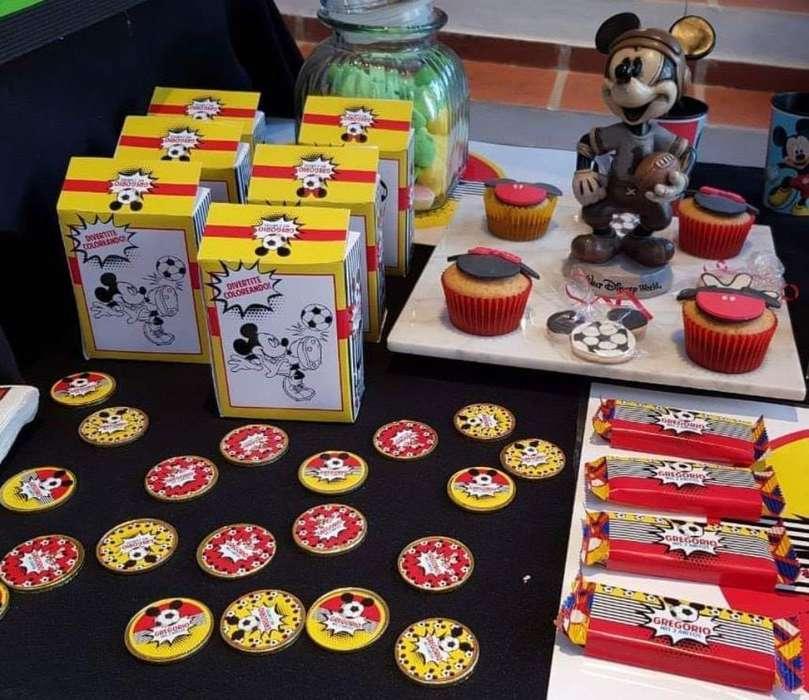 Diseño de Etiquetas para Candy Y Tarjeta