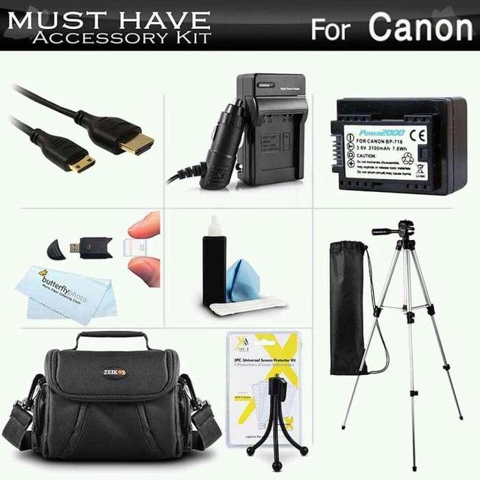 <strong>accesorios</strong> para Canon Vixia Hf R52, Hf R