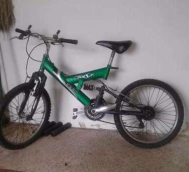 bicicleta rin 20 GW doble shock