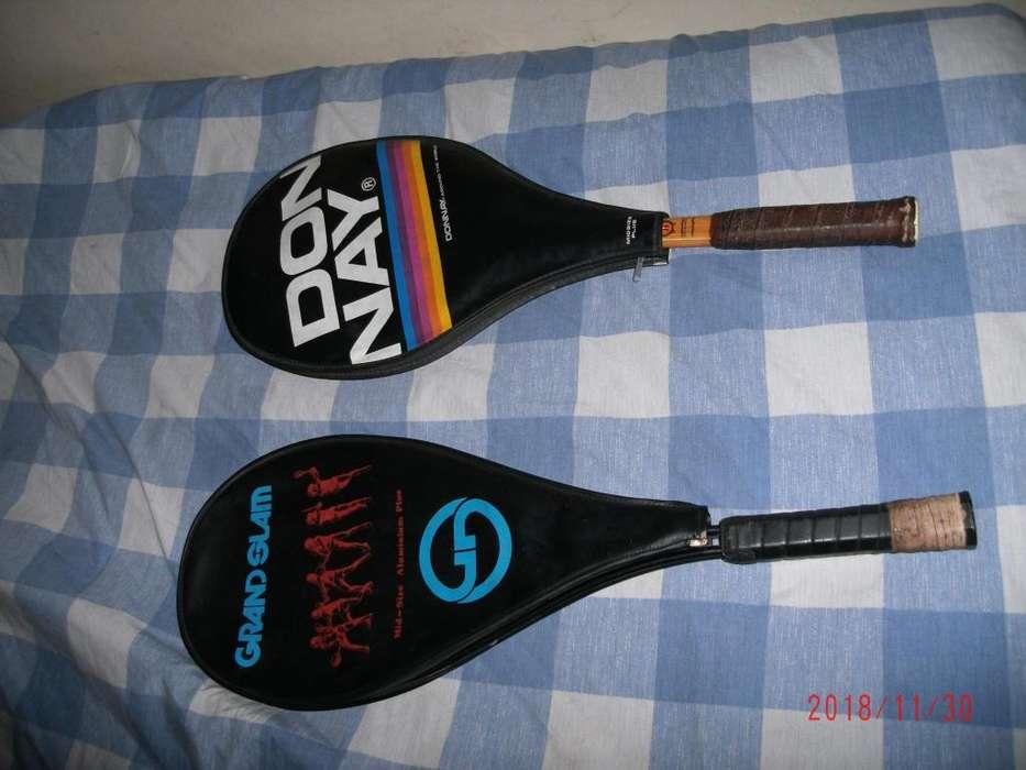 Raquetas antiguas usadas Rancroft