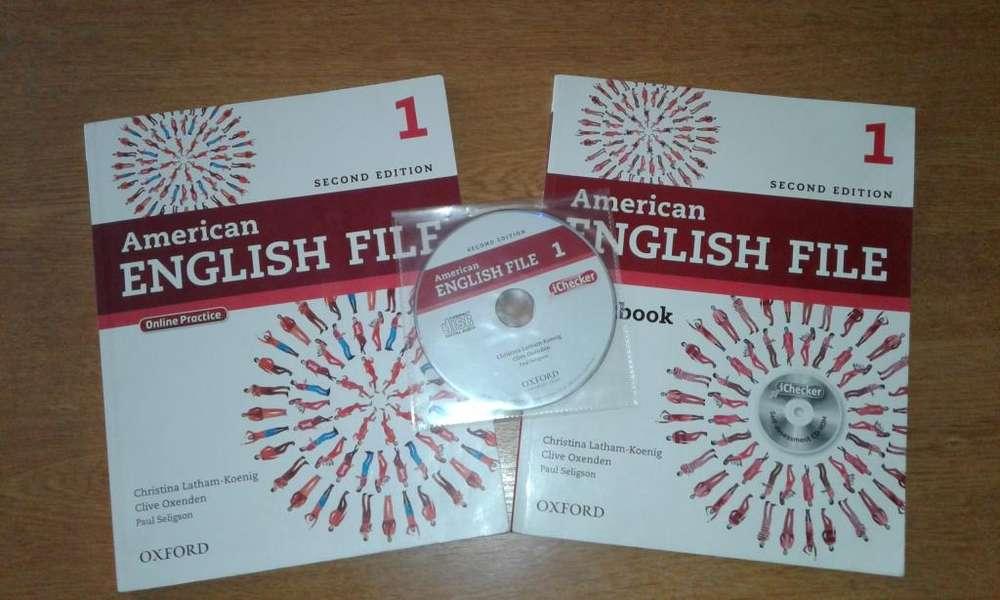 Libros de ingles básico, American English File 1 Second Edition, Segunda Mano