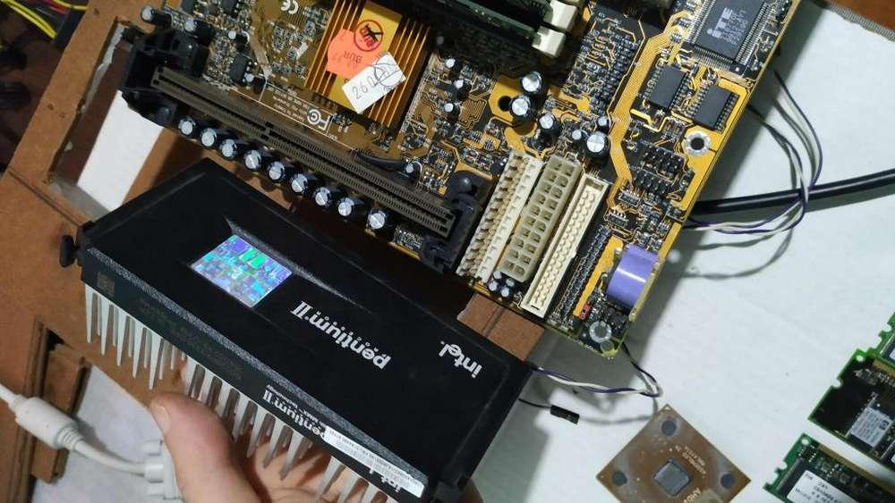 Intel pentium 2 333Mhz slot 1 con 64mb ram