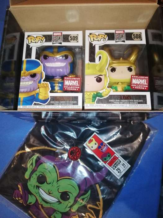 Caja Marvel Collector Corps