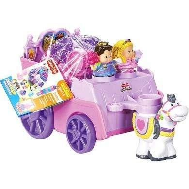 Juego FisherPrice Little People Builders Royal Princess Coach