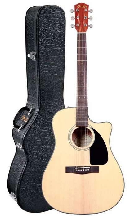 Guitarra Fender Y Amplificador Roland Cb
