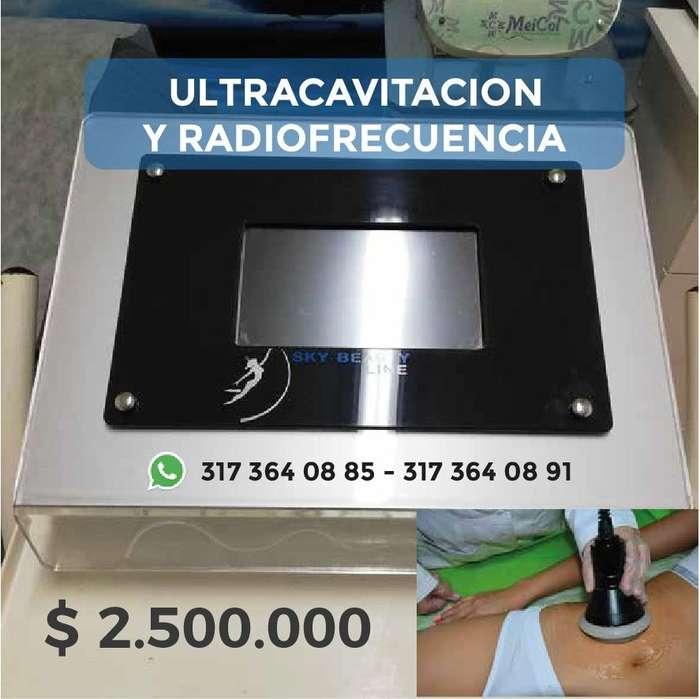 VENTA DE ULTRACAVITACION Y RADIOFRECUENCIA DE SEGUNDA PARA SPA
