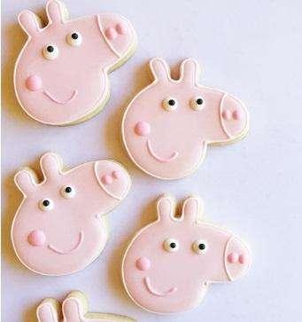 Cookies Galletitas Decoradas Peppa Unicornio Flores Comunion