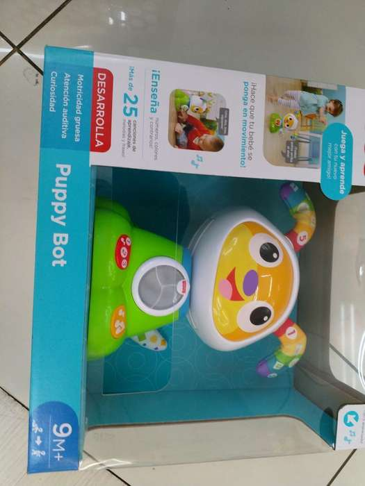 Puppy Bot Juguete Fisher Price