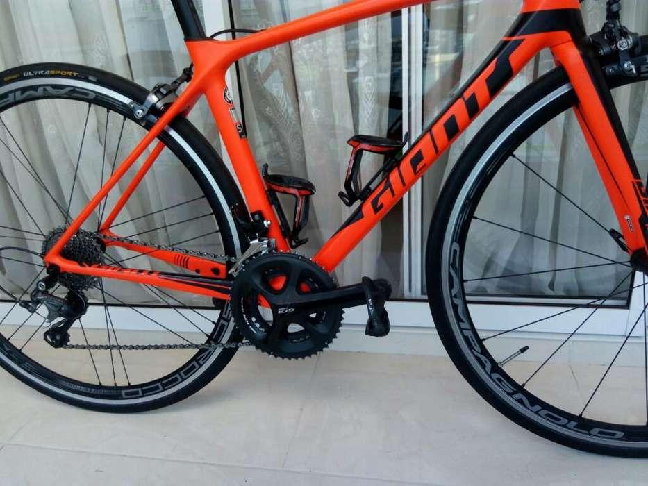 Bici Ruta Giant Advanced 2018 Carbono