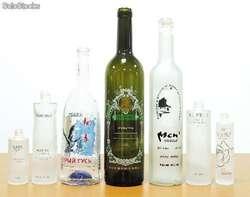 Botellas Personalizadas Impresion Uv Full Color Alto Relieve