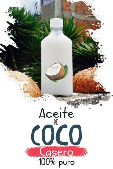 Aceite de Coco 100% Natural