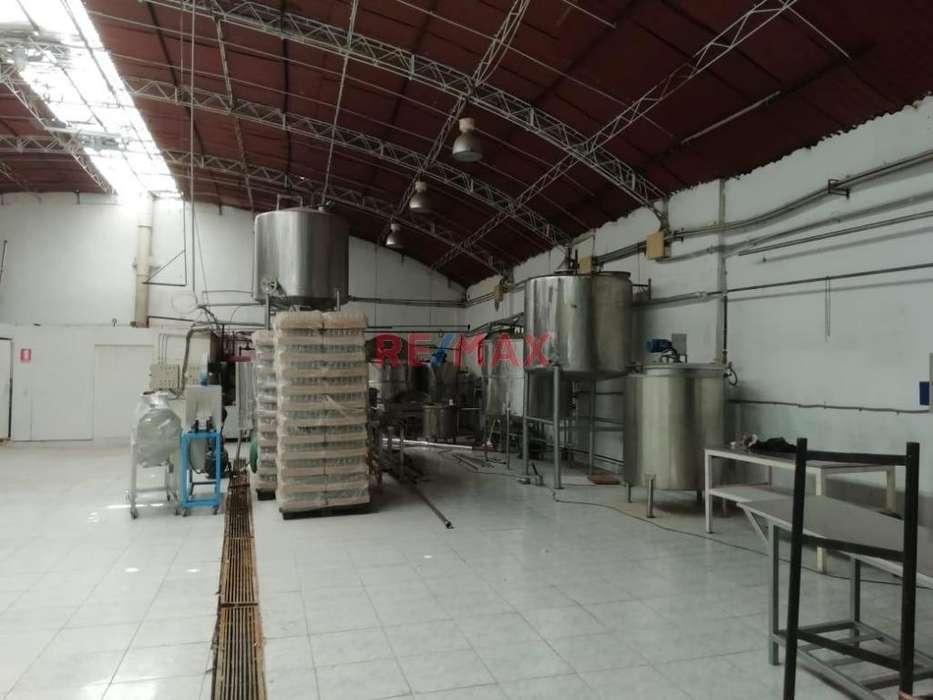 Se alquila Local Industrial para Industria Alimentaria en Callao
