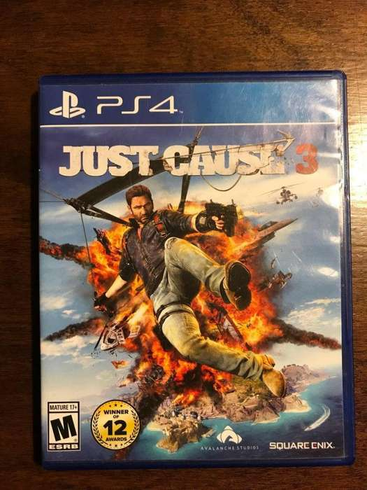 Just Cause 3 playStation 4 ps4 fisico PERMUTO X GTA 5