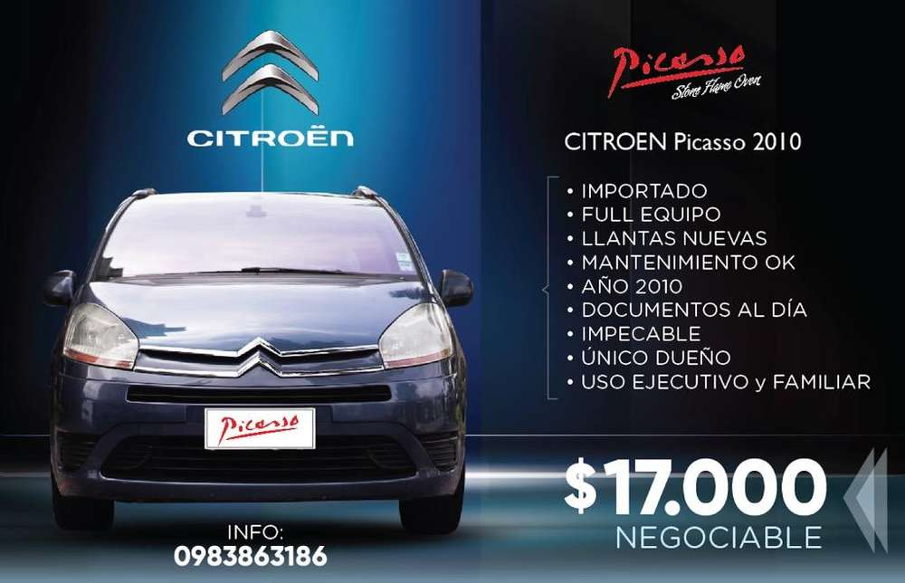 <strong>citroen</strong> Picasso 2010 - 133000 km