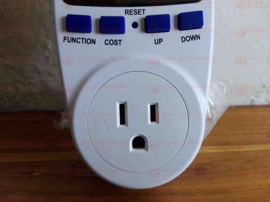 Vatimetro Digital Medidor Consumo Costo Energía Y Potencia