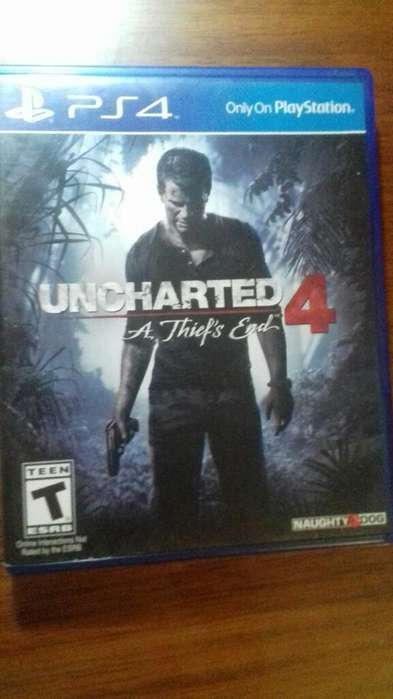 Uncharted para Ps4