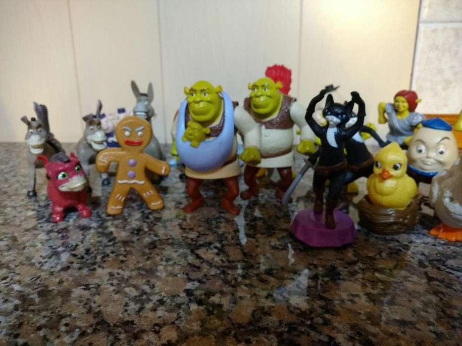 Coleccion de Juguetes Shrek