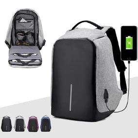 Mochila Antirobo Porta Notebook Usb Impermeable ORIGINAL!!!