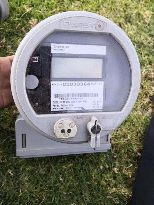 Medidor Electrónico de Luz Doble Tarifa