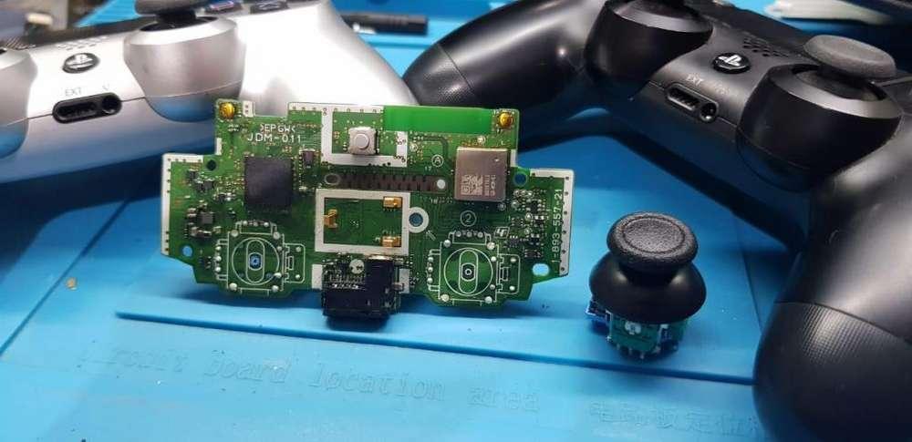 reparacion joystick ps4