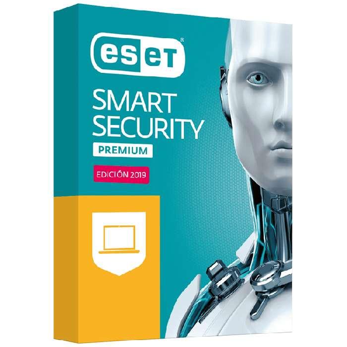 ANTIVIRUS ESET SMART SECURITY PREMIUM 1<strong>pc</strong> - 2 AÑOS