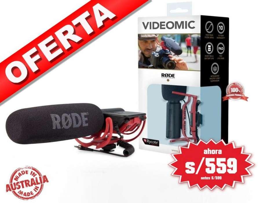Original Rode Videomic Rycote 100 Australiano TIENDA