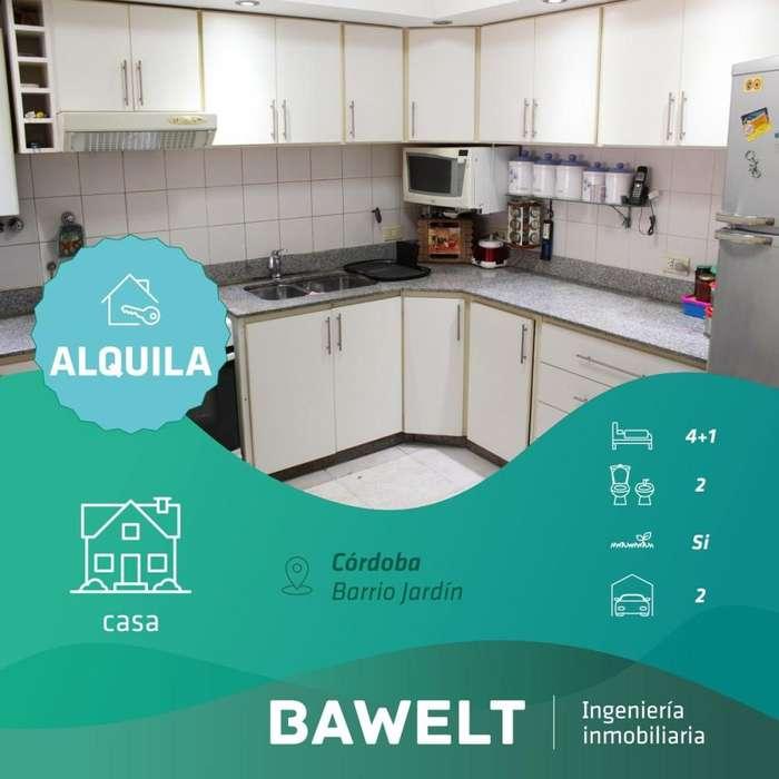 Casa en alquiler, Jardin, Bruno Tapia 2700