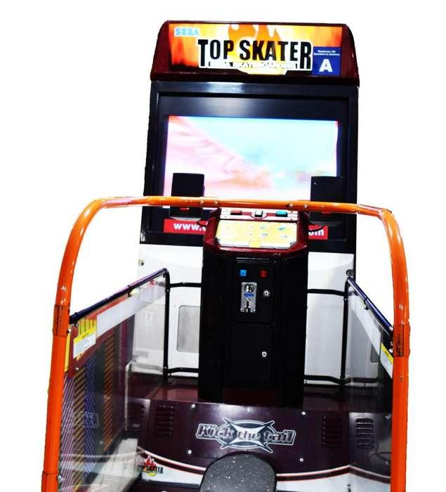 Alquiler Simulador Video Juego Top Skater Maquinitas