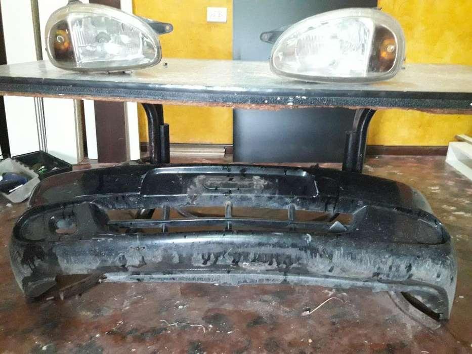 Paragolpe Y Opticas Cprsa Wagone 2007