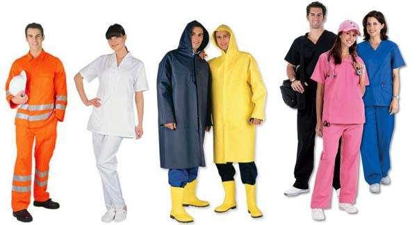 ropa de trabajo para industrias