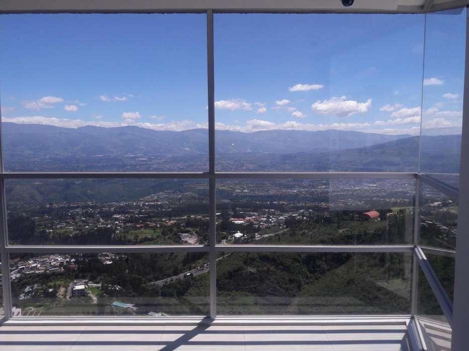 Arriendo Renta hermoso departamento 153m con vista Monteserín SIERRA del MORAL 3 habitaciones