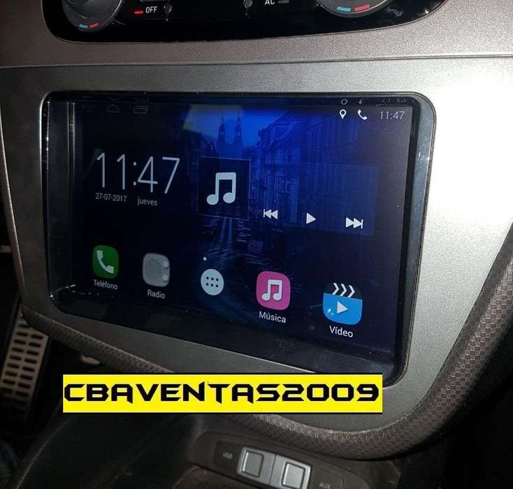 Estereo CENTRAL MULTIMEDIA STEREO PANTALLA <strong>seat</strong> LEON Gps Android Bluetooth